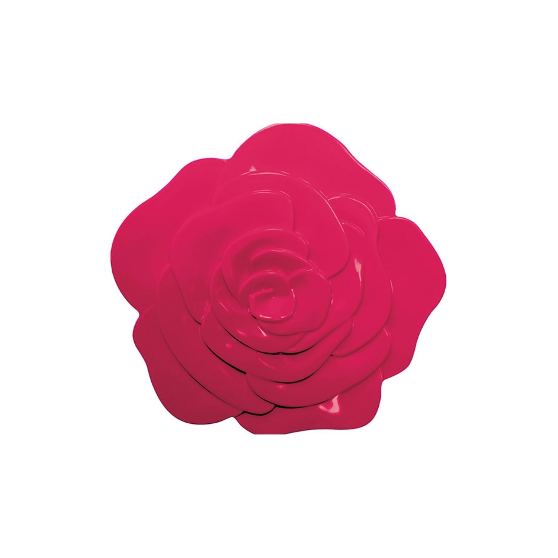 ROSE - Dessous de plat - Ø 15,5 cm - Grenadine