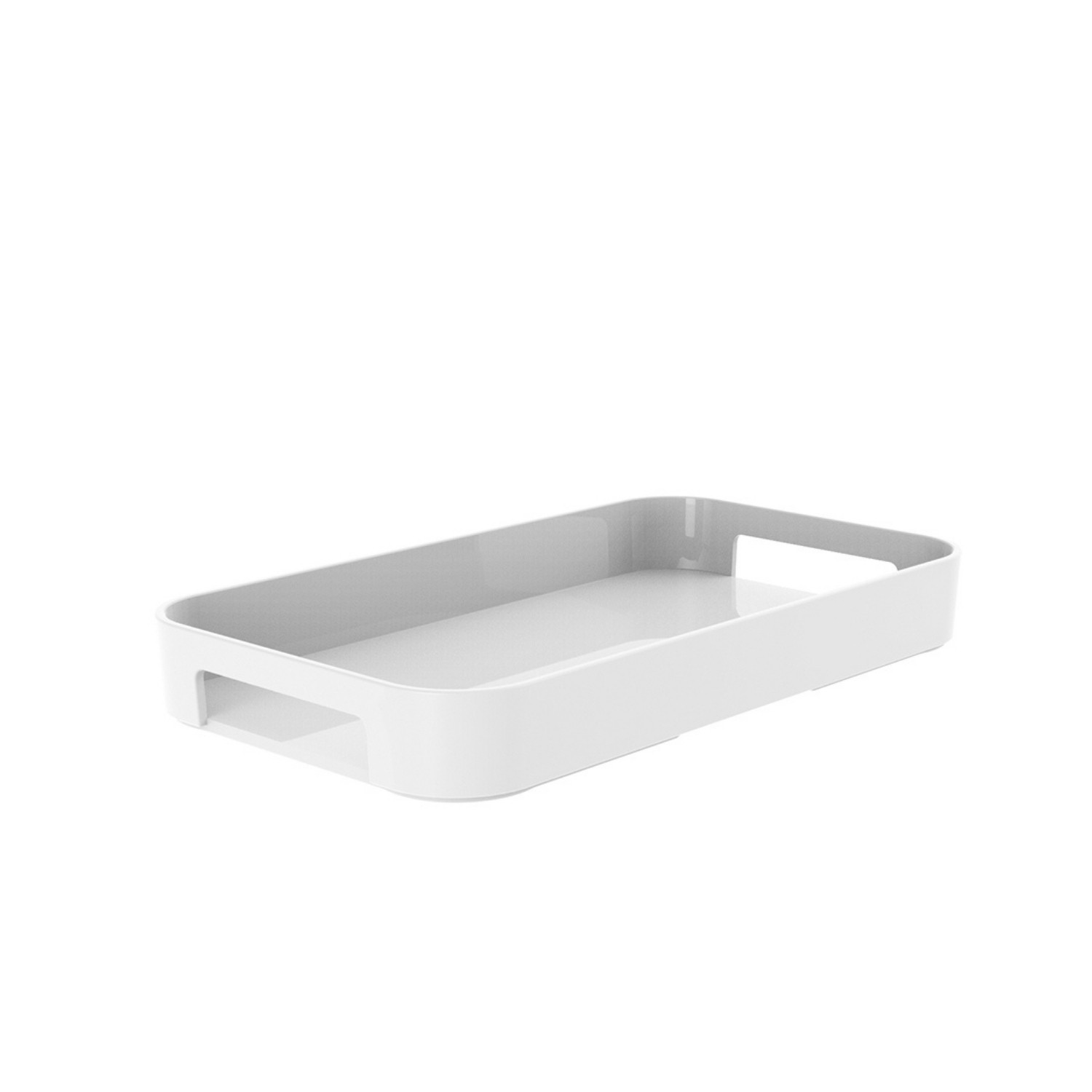 GALLERY - Plateau rectangulaire M - blanc