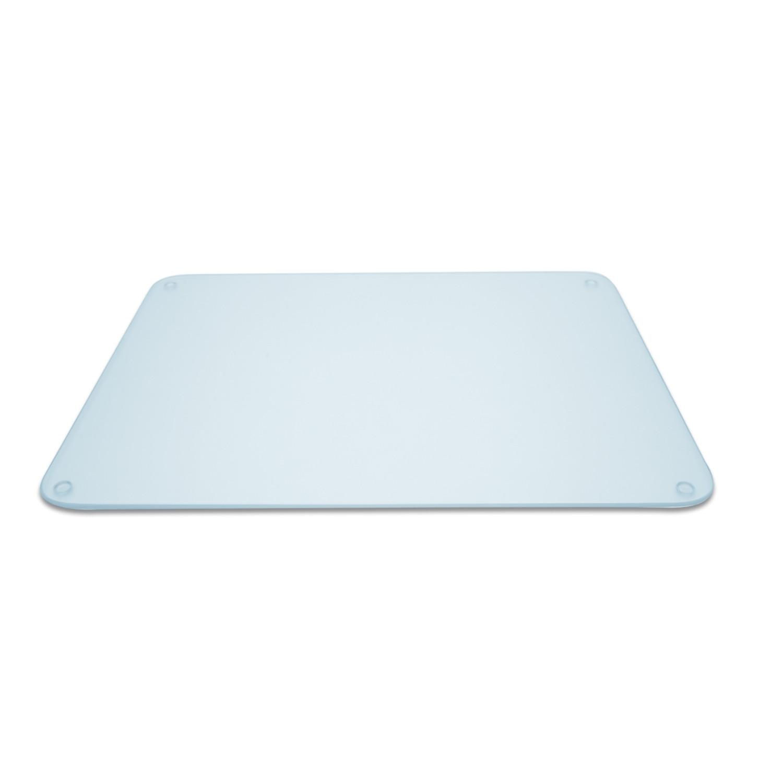 Planche en verre multifonction rectangulaire 50 x 40 cm - transparent