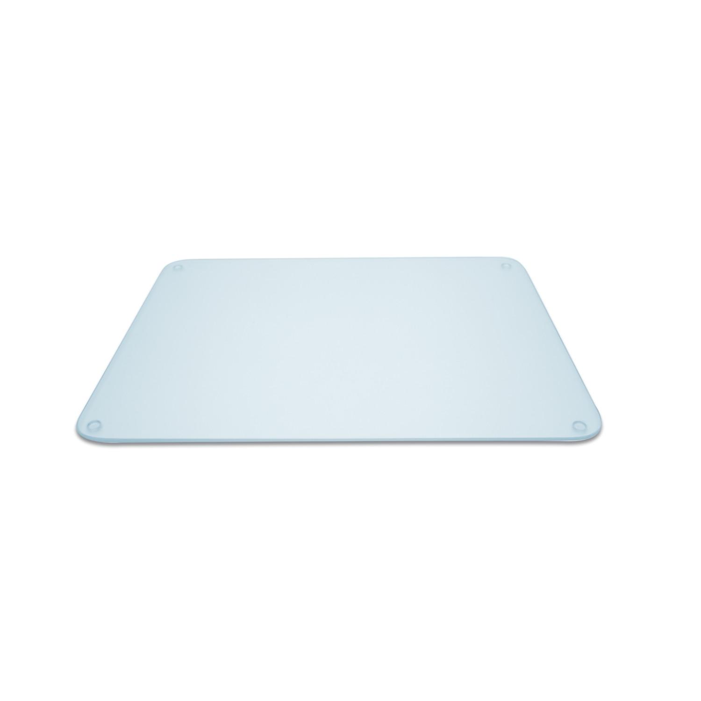 Planche en verre multifonction rectangulaire 40 x 30 cm - transparent