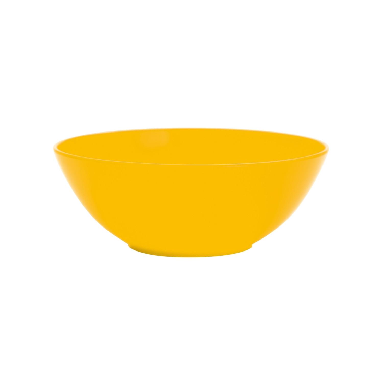 BBQ - Assiette creuse - jaune