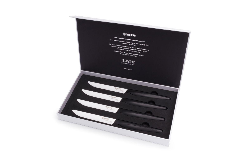 Set de 4 couteaux à steak en céramique