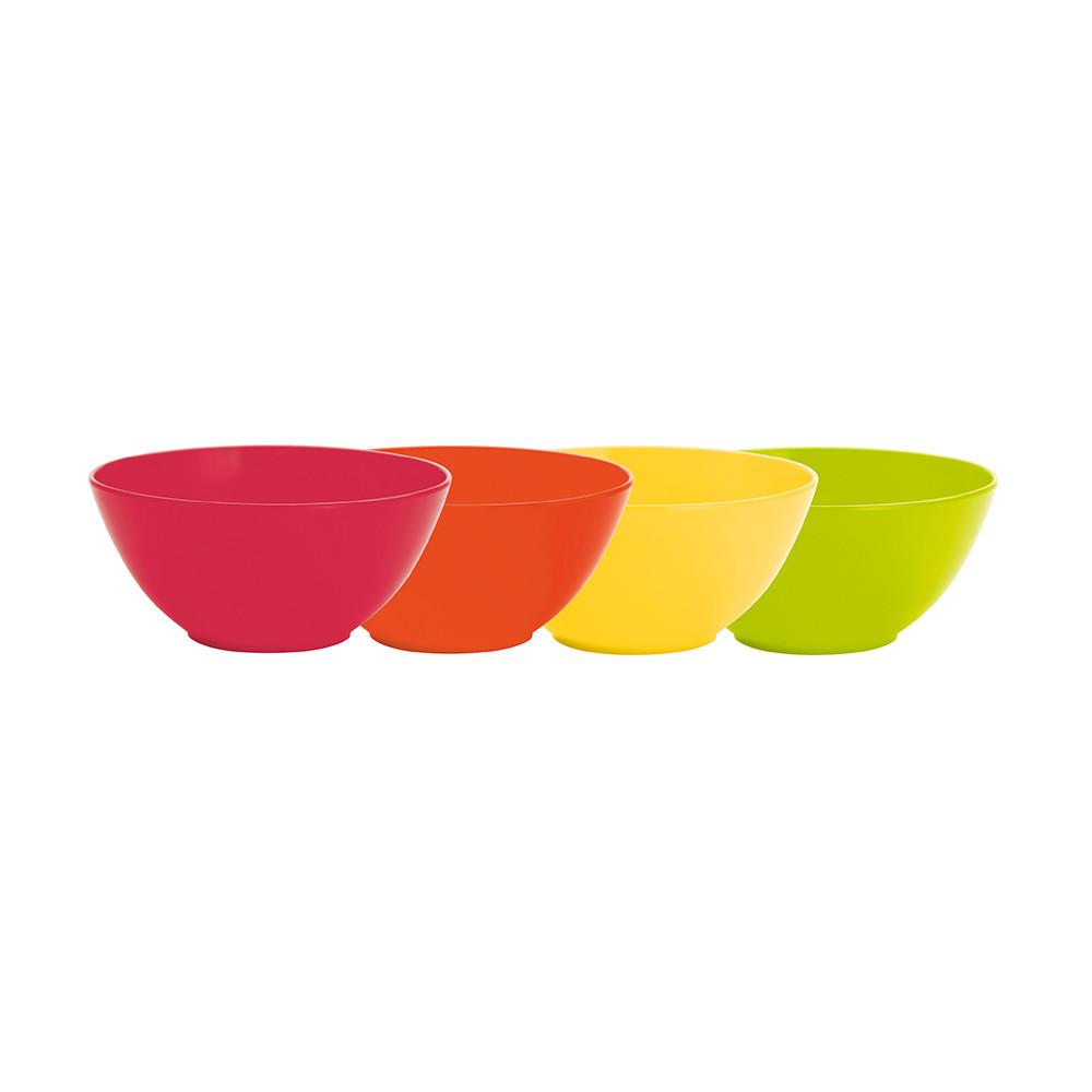 BBQ - Set de 4 bols à céréales - hot pop