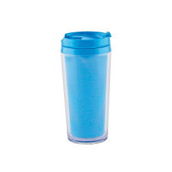 ON THE GO - Mug isotherme opaque 40cl  - Bleu aqua