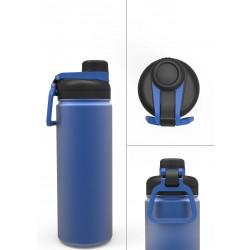 CAMPER - Mug isotherme double paroi - Bleu/Noir