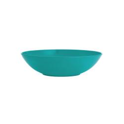 BBQ - Assiette creuse Ø 21 cm - Bleu Aqua