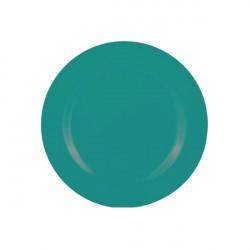 BBQ - Assiette 24 cm - Bleu aqua