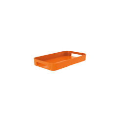 GALLERY - Plateau rectangulaire XS - corail