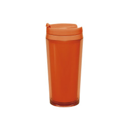 ON THE GO - Mug isotherme opaque 40cl - Corail