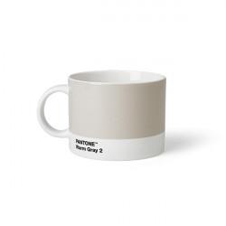 Tasse à thé en porcelaine - Gris chaud 2 C