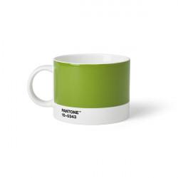 Tasse à thé en porcelaine - Vert 15-0343