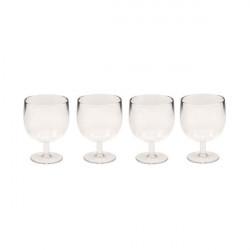 Set de 4 verres à liqueur STACKY à pied - Transparent