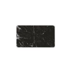 OSMOSE - Planches de service - marbre noir/blanc