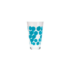 DOT DOT - Verre 20 cl - Bleu aqua