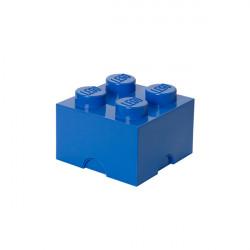 Brique de rangement empilable 4 - Bleu