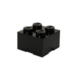 Brique de rangement empilable 4 - Noir
