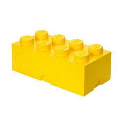 Brique de rangement empilable 8 - Jaune