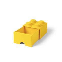 Brique de rangement 4 à tiroir - jaune