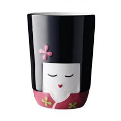 Tasse double-paroi FOLKLORE - Kokeshi (Japon)