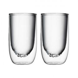 Set de 2 verres ELEMENTS double-paroi - 350ml - Eau