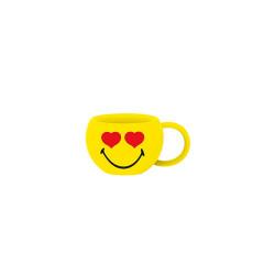 SMILEY - Tasse à expresso - amoureux