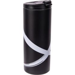 MONOCHROMANIA - Mug isotherme double paroi plastique 40 cl - brushstroke