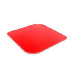 Dessous de plat en verre trempé - rouge