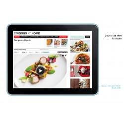PLV Tablette tactile offerte pour l'achat de 12 i-prep