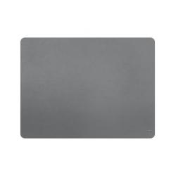 Set de table cuir recyclé rectangulaire - gris