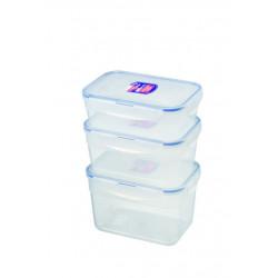 Set 3 boîtes rectangulaires basses