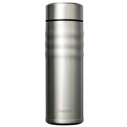 CERAMUG - Mug isotherme bouchon twist 500 ml - inox