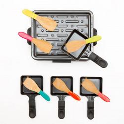 Set de 6 spatules à raclette - multico