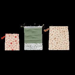 Set zéro déchet en coton biologique