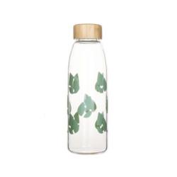 Bouteille imprimée en verre 55 cl - vert