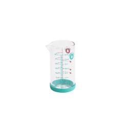 Verre mesureur en verre avec silicone 20 cl