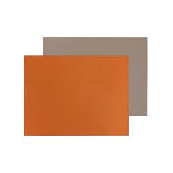 Set de table bicolore réversible - rectangulaire