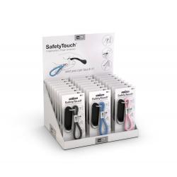 SAFETY TOUCH - Présentoir de 24 pièces de porte clefs anti-contamination