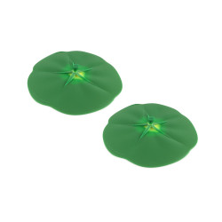 TOMATE - Set de 2 couvre-verres - vert